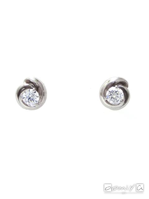 フォーエバーマーク|SIMPLE DIAMOND COLLECTION ダイヤモンド イヤリング - FSP403PT