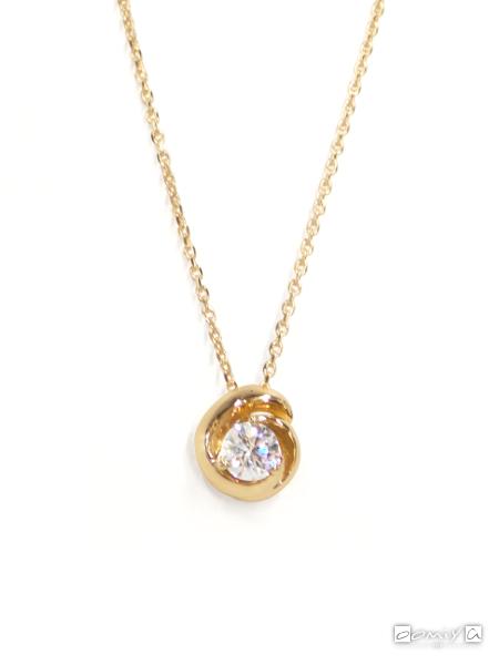 フォーエバーマーク|SIMPLE DIAMOND COLLECTION ダイヤモンド ネックレス - FSN702PG