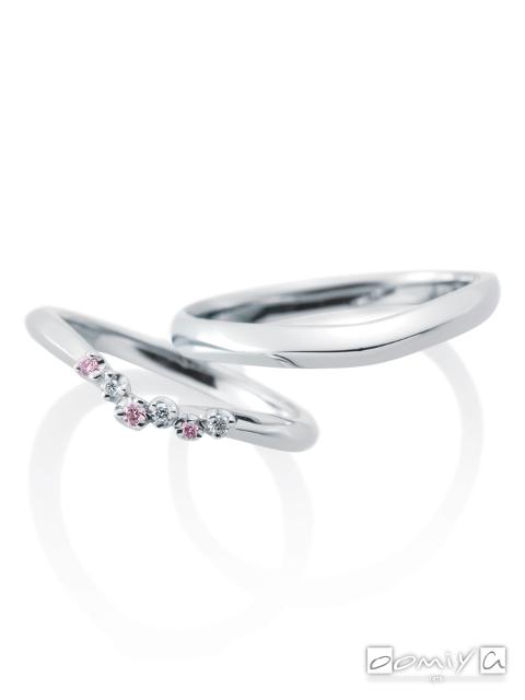 カフェリング|結婚指輪(マリッジリング) ジャルダンドゥロゼ
