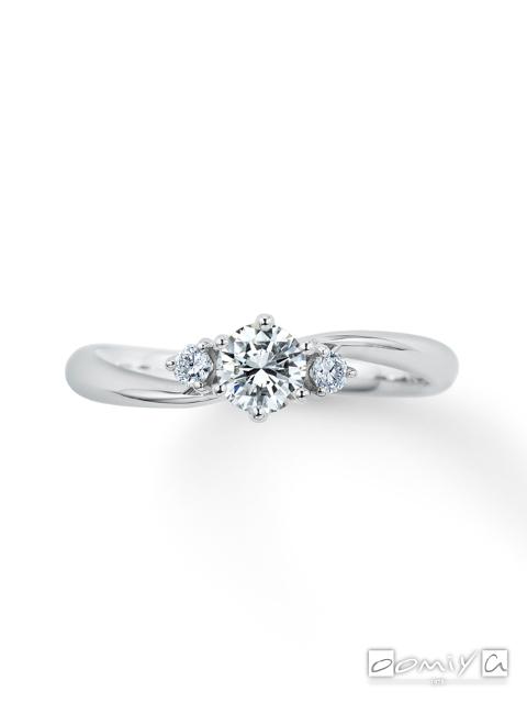 カフェリング|婚約指輪(エンゲージリング) エメ デュー - CEA069X