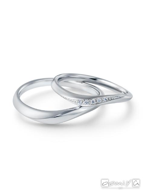 カフェリング|結婚指輪(マリッジリング) エメ