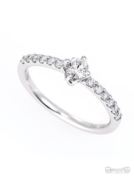 星の砂|ミモザ - HLS3580 婚約指輪(エンゲージリング)