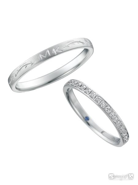 サムシングブルー|結婚指輪(マリッジリング) - SB-831 / SB-830