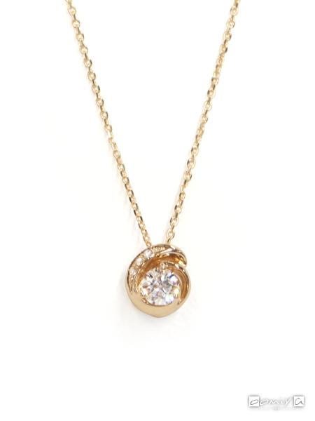 フォーエバーマーク|SIMPLE DIAMOND COLLECTION ダイヤモンド ネックレス - FSN*YG