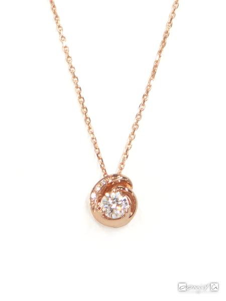 フォーエバーマーク|SIMPLE DIAMOND COLLECTION ダイヤモンド ネックレス - FSN*PG