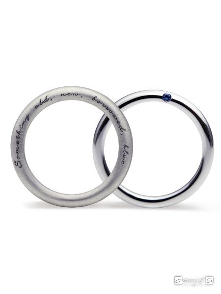 サムシングブルー|結婚指輪(マリッジリング) - SB-868 / SB-865
