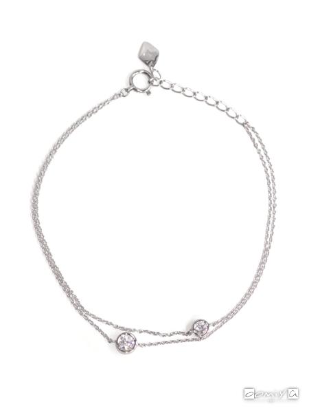 フォーエバーマーク|SIMPLE DIAMOND COLLECTION ブレスレット - PDBLF725