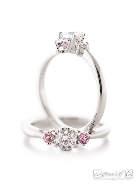 カフェリング|婚約指輪(エンゲージリング) アンジェ - CEA015X