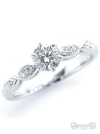 インペリアル|アンティーク - FFR5570 婚約指輪(エンゲージリング)