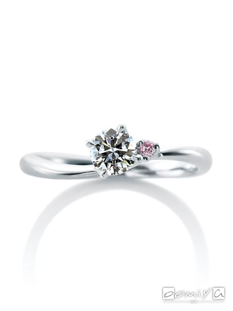 カフェリング|婚約指輪(エンゲージリング) ローズヒップ デュー - CEA039X