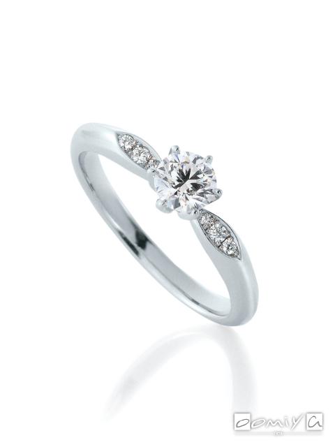 カフェリング|婚約指輪(エンゲージリング) サツキバイ - CEA040X