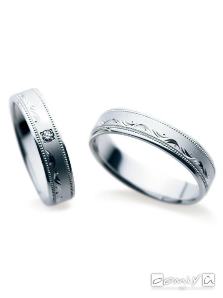 サムシングブルー セントピュール|SA851 / SA852 - 結婚指輪(マリッジリング)