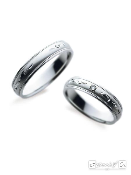サムシングブルー|SA853 / SA854 - 結婚指輪(マリッジリング)
