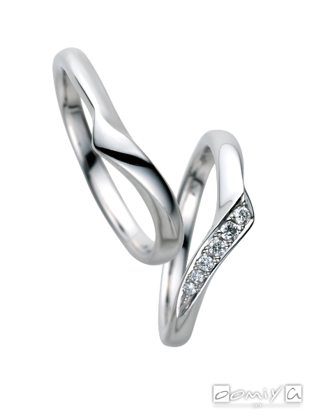 サムシングブルー|セントピュール SP824 / SP825 - 結婚指輪(マリッジリング)