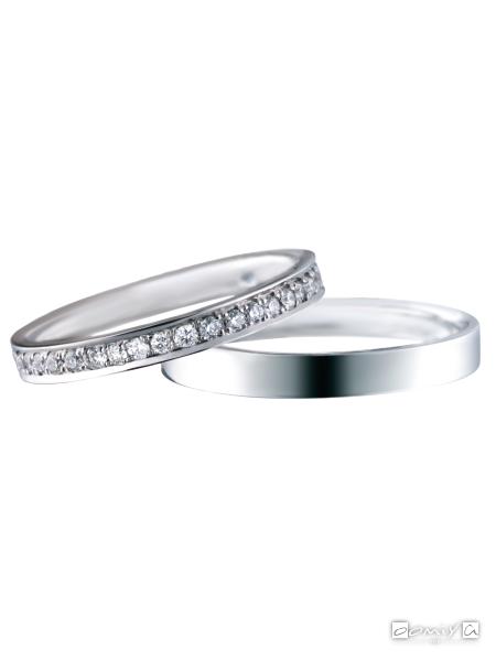 サムシングブルー|セントピュール SBM100 / SBM101 - 結婚指輪(マリッジリング)