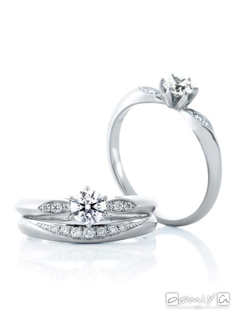 カフェリング|セットリング(結婚指輪&婚約指輪) サツキバイ