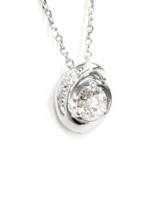 フォーエバーマーク|SIMPLE DIAMOND COLLECTION ダイヤモンド ネックレス - FNS*PT