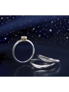 星の砂|ステラ - HLS3630 婚約指輪(エンゲージリング)