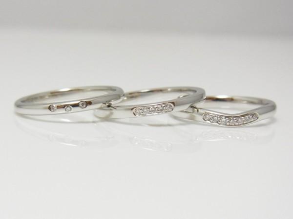 """フラー・ジャコー☆スリムで可愛いマリッジリング"""" ミニョン """" 結婚指輪 - マリッジリング ブライダル 婚約指輪 - エンゲージリング 婚約指輪&結婚指輪 - セットリング"""