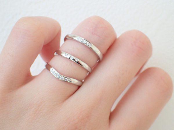フラージャコーの華奢で可愛いリング☆ 結婚指輪 - マリッジリング ブライダル