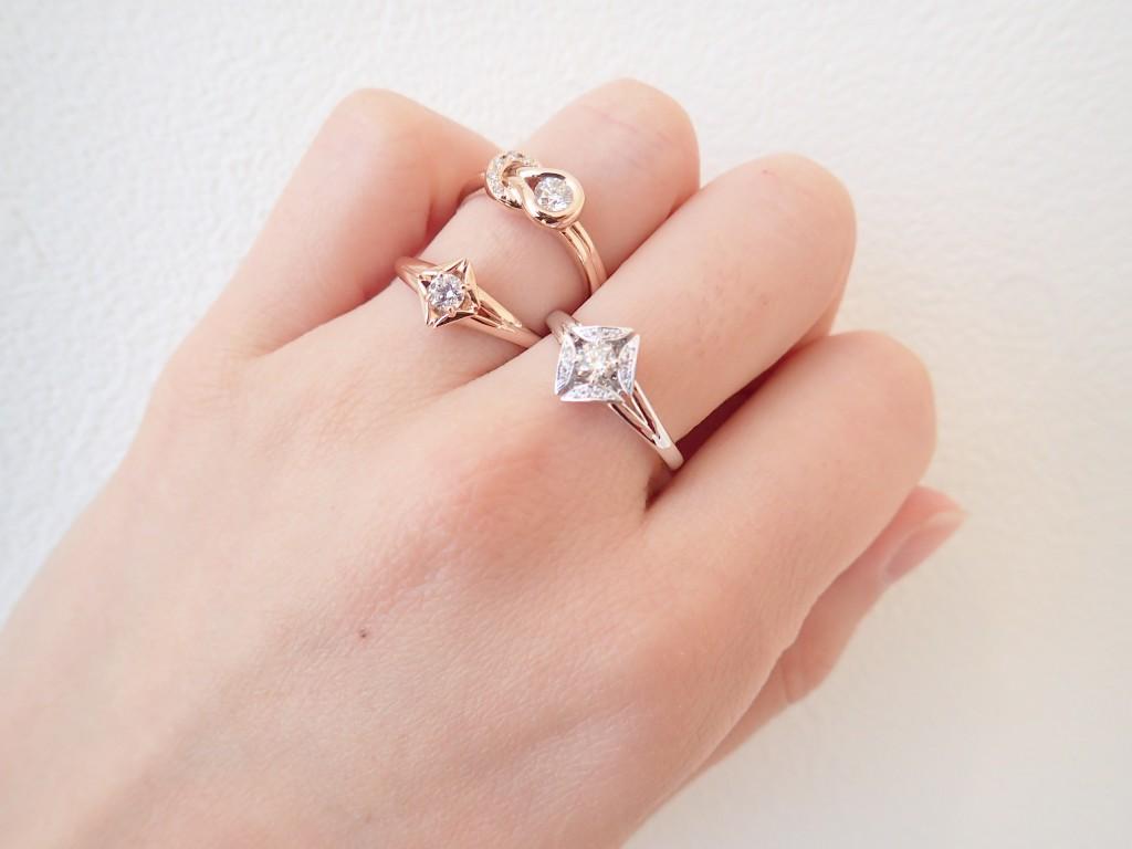ダイヤモンドにこだわったフォーエバーマークリング特集☆