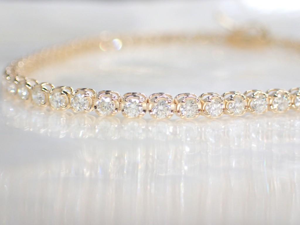 キラキラ輝くダイヤモンドブレスレットが入荷しました☆