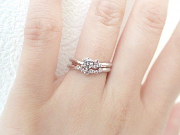 カフェリング誕生石フェア開催中!ピンクダイヤモンドが大人可愛いリング特集☆ 結婚指輪 - マリッジリング ブライダル 婚約指輪 - エンゲージリング 婚約指輪&結婚指輪 - セットリング イベント・フェアー