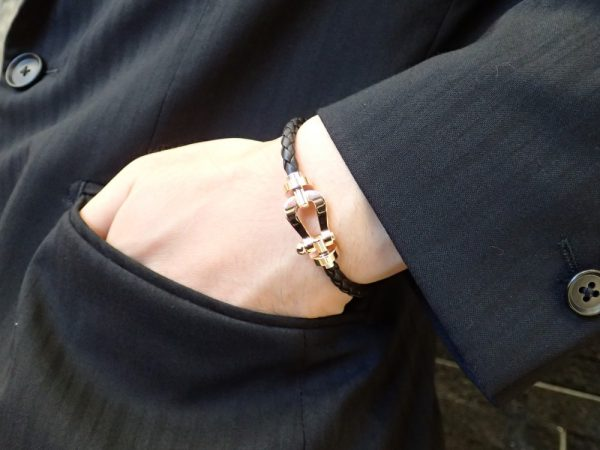 """フレッドのフォース10ブレスレットを""""きちんと""""スタイルにも取り入れてみましょう♬ ファッションジュエリー フレッド"""