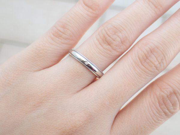 フラージャコーのマリッジリング。ゴールドスミスが造るマッターホルン 結婚指輪 - マリッジリング ブライダル