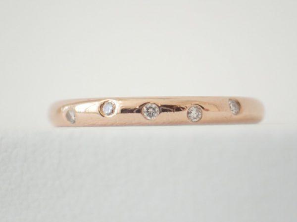 簡単お手入れで輝きを取り戻す☆フラージャコーのK18ゴールドリング♪ 結婚指輪 - マリッジリング ブライダル メンテナンス