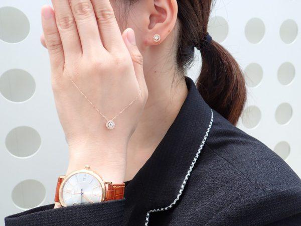 秋の装いに添えるフォーエバーマークピンクゴールドジュエリー☆ ファッションジュエリー フォーエバーマーク