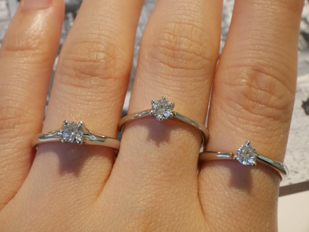 期間限定!フラージャコー☆一粒ダイヤのエンゲージリングがご覧頂けます。