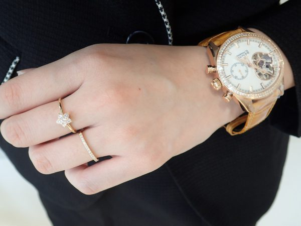 アーカー万能リング!リング2本重ねづけや時計とのコーディネートがおすすめ☆ ファッションジュエリー