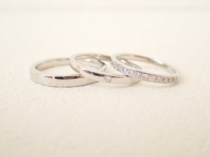 大切な結婚指輪をカフェリングのセミオーダーでお作りしませんか?☆