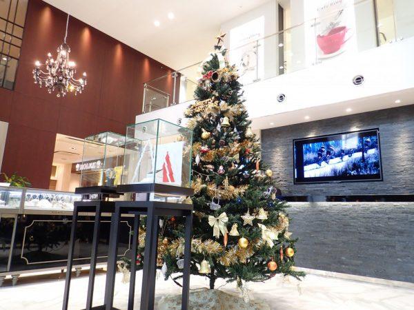 クリスマスディスプレイ第二弾!!二人を繋ぐTwo-Dコレクションをクリスマスプレゼントにいかがですか? ファッションジュエリー