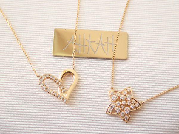 """アーカー プレゼントやご褒美に♪""""ハート""""と""""星""""モチーフどちらがお好みですか? ファッションジュエリー アーカー"""
