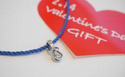 バレンタインギフトに☆フォーエバーマークのコードネックレス