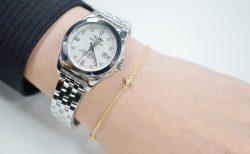 時計+フレッド・ローリーロドキン・アーカー3ブランドのブレスレットをつけ比べてみました。