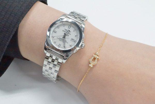 時計+フレッド・ローリーロドキン・アーカー3ブランドのブレスレットをつけ比べてみました。 ファッションジュエリー アーカー フレッド ローリーロドキン