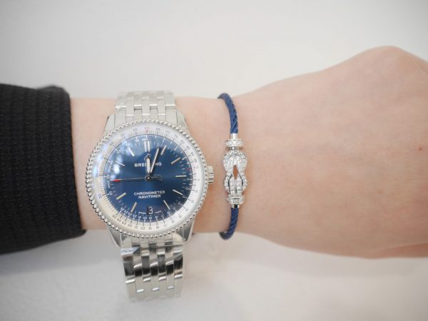 ブライトリングフェア開催中!時計×フレッド 手元コーデ ファッションジュエリー フレッド イベント・フェアー