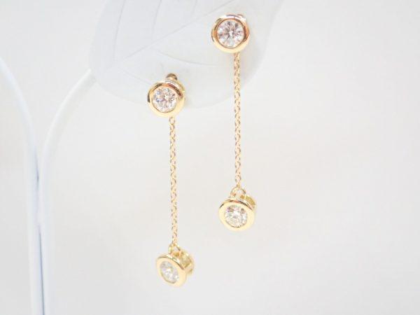 春のアイテムにフォーエバーマークTWO-Dコレクションの揺れるピアス☆ ファッションジュエリー フォーエバーマーク