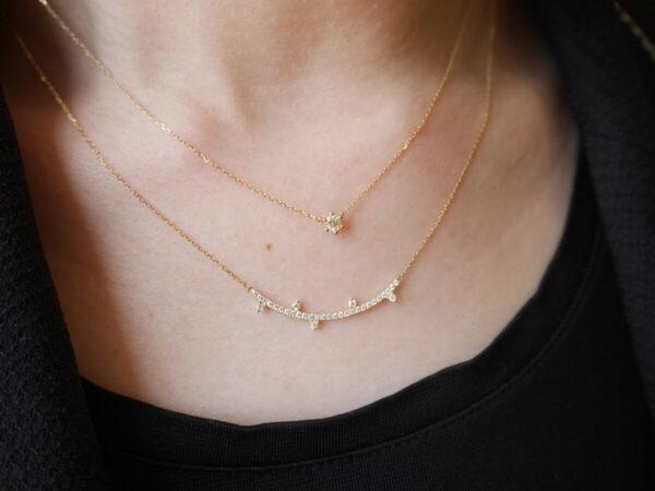 アーカーのネックレスで重ねづけコーディネート♪ ファッションジュエリー アーカー