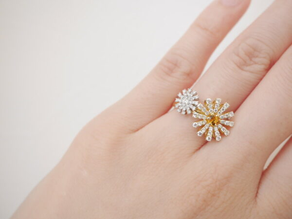 ダミアーニから華やかなマルゲリータのリングが入荷しました❁ ファッションジュエリー ダミアーニ