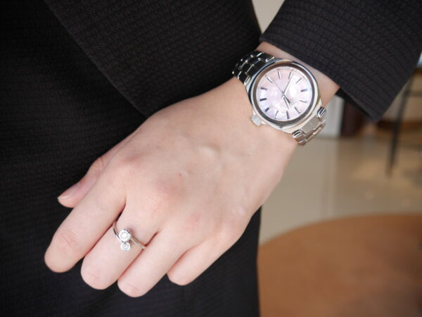 タグホイヤーフェア最終日!時計とジュエリーの手元コーデ♪