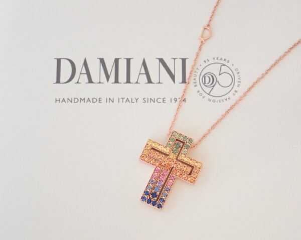 ダミアーニ95周年記念☆新作レインボーカラーのベルエポックネックレス