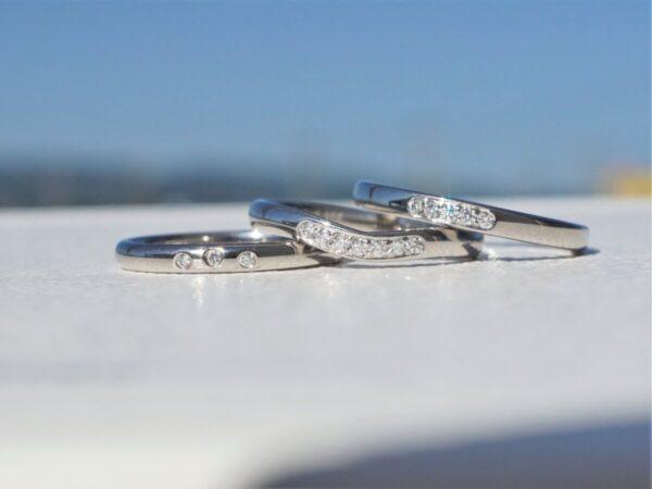 華奢な結婚指輪をお探しならフラージャコーのミニョンがオススメ♡