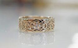 ローリーロドキンのリングを特別サイズでオーダー♬