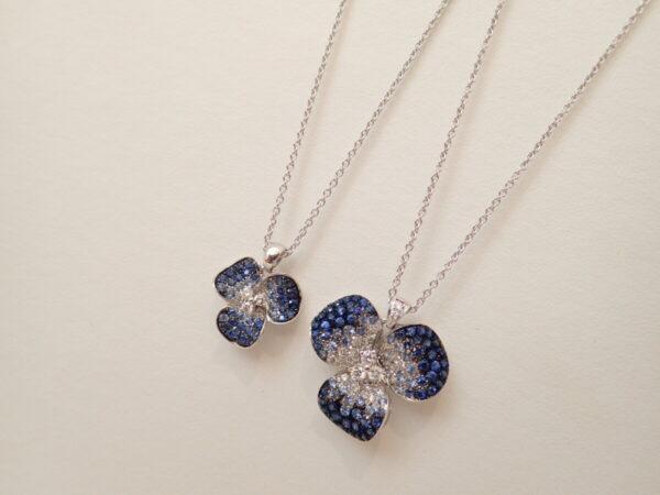 ブルーのグラデーションが夏らしいレオピッツォ フローラコレクション ファッションジュエリー その他