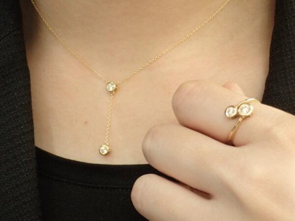 気持ちを晴れやかにしてくれるTWO-Dコレクションのゴールドジュエリー☆ ファッションジュエリー フォーエバーマーク