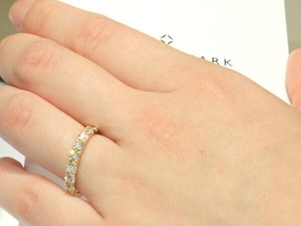 記念の指輪にはフォーエバーマークのエタニティリングが最適です☆ ファッションジュエリー フォーエバーマーク